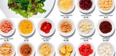 imagem de alimentos na tabela
