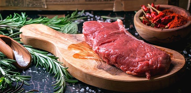 alimentação estratégica carne
