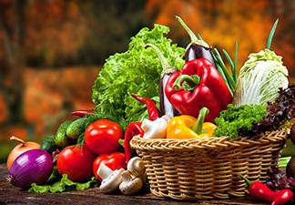 ingerir vegetais