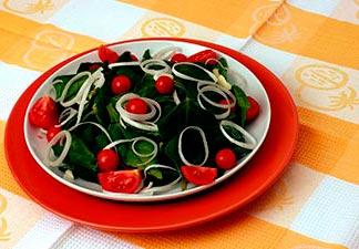 alimentação espinafre