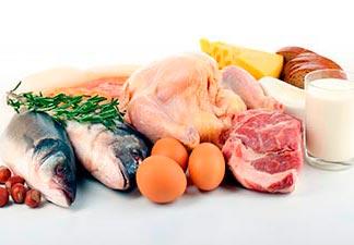 alimentos proteínas