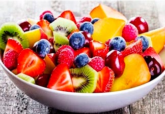 frutas a vontade