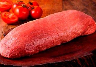 carne de boi e de porco