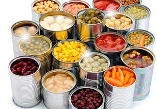 comidas industrializadas