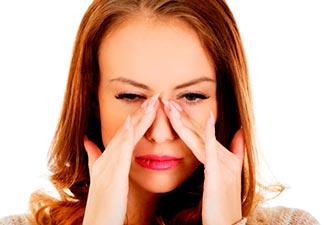 inflamação na mucosa dos seios da face