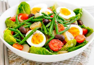 alimentação salada