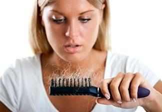combate a queda de cabelo