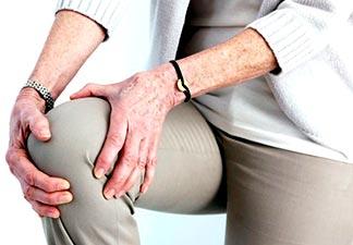desgaste das extremidades dos ossos