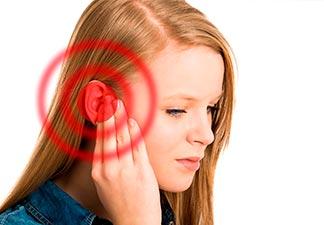 inflamação no ouvido