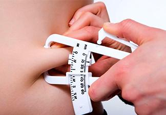 diminuição de níveis corporal