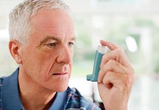 melhora o quadro de asma