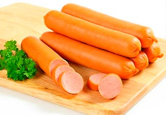 alimentos industrializados salsicha
