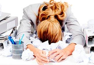 causas do síndrome de burnout