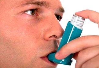 efeitos asma