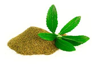 forma de consumo da stevia