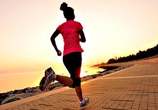 prática de exercício