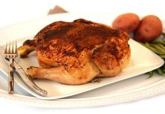 assado de frango
