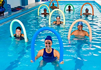 atividade física hidroginástica
