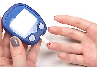 relação com diabetes