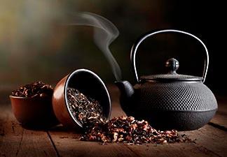 origem do chá