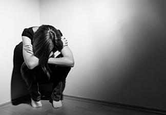 pessoa depressiva